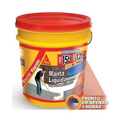 Sikafill®  Rápido Impermeabilizante Acrílico Elástico 15kg