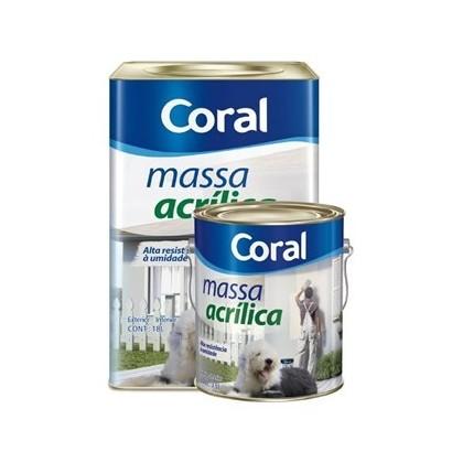 Massa Acrilica Coral