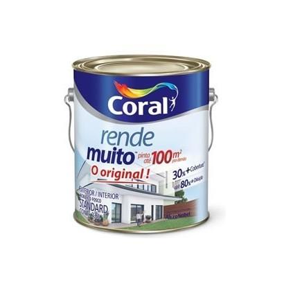 Tinta Acrílica 3,6lts Rende Muito Coral
