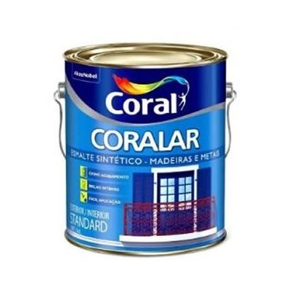 Tinta Esmalte Brilhante 3,6lts Coralar Coral