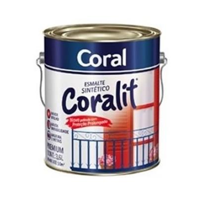 Tinta Esmalte Sintético Fosco 3,6Lts Coralit Coral