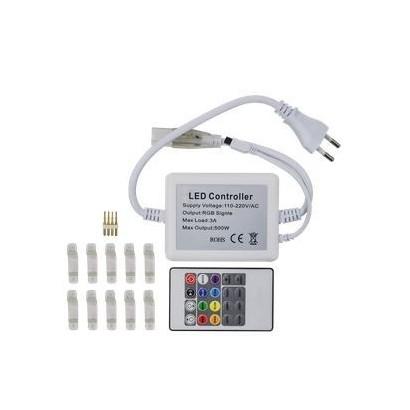 Kit De Fita Led 5050 RGB c/Fonte e Control c/5m MBLED