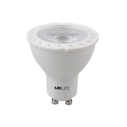 Lâmpada Dicroica 6w Led MR16 Bivolt Luz Fria GU10 MBLED