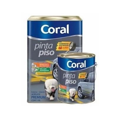 Tinta Piso 18lts Coral