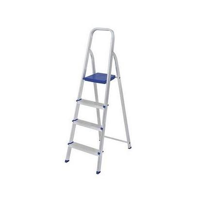 Escada De Aluminio 3 Degraus Alustep