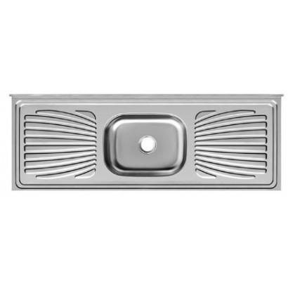 Pia Aço Inox Frisada Standard Pianox