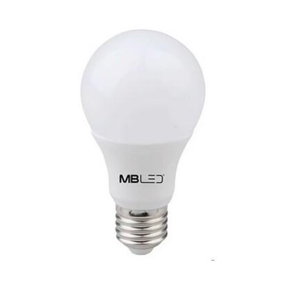 Lâmpada Led Bulbo 7w Bivolt Luz Branca Fria 6500K MBLED
