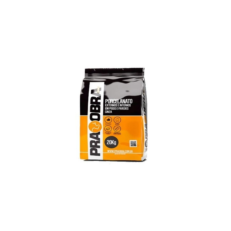 Argamassa PraObra Cola Tudo Int/Ext 20kg