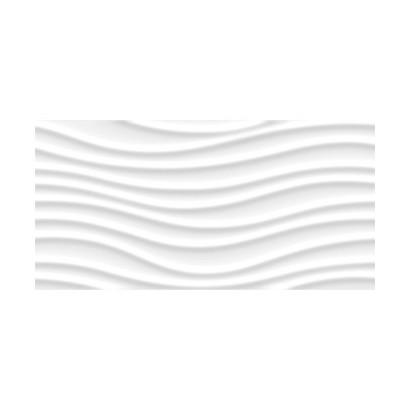 Revestimento 35x70cm Ret Wave Black Acetinado A Esm Cx 1,96m² Delta
