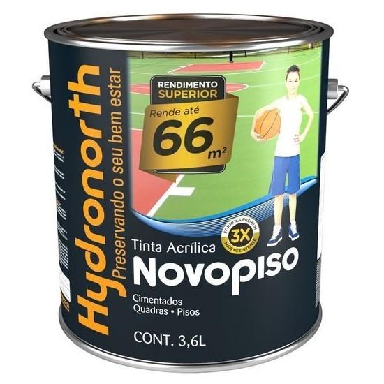 Tinta Acrílica Fosca Premium Novo Piso Hydronorth