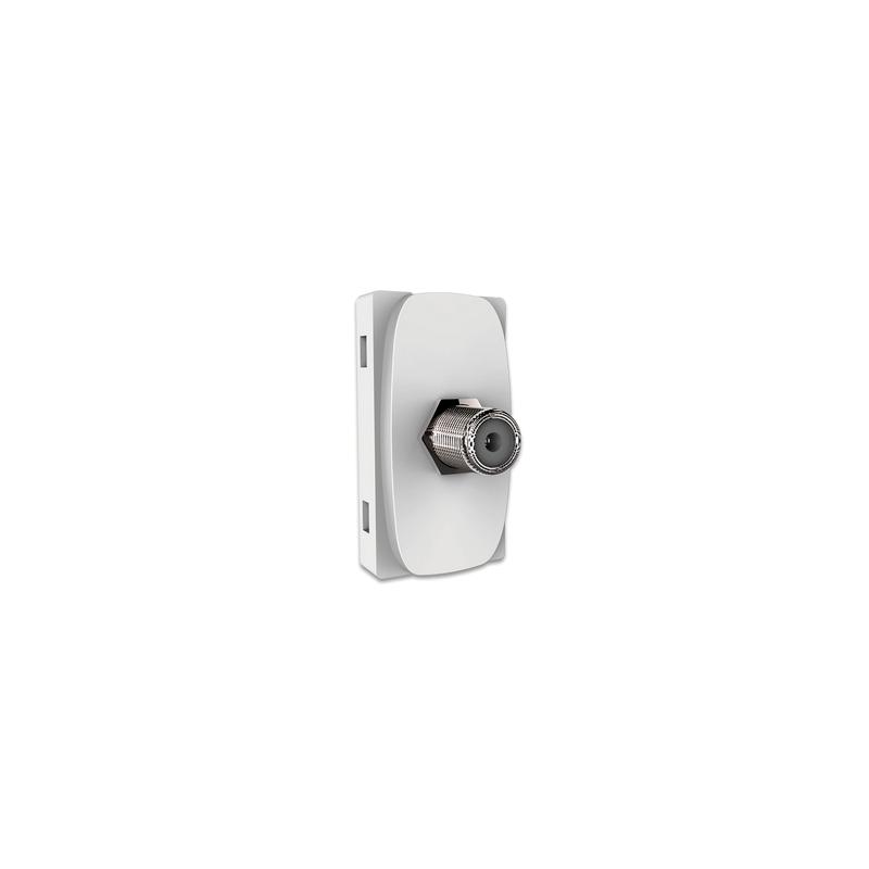 Modulo Tomada RJ11 Branca Gracia 4V 85316 Alumbra