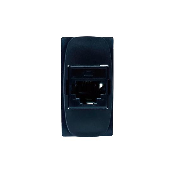 Modulo Tomada RJ11 Preta Gracia 4V 85362 Alumbra