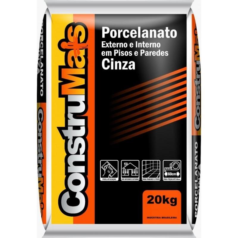 Argamassa PraObra Porcelanato Int/Ext 20kg