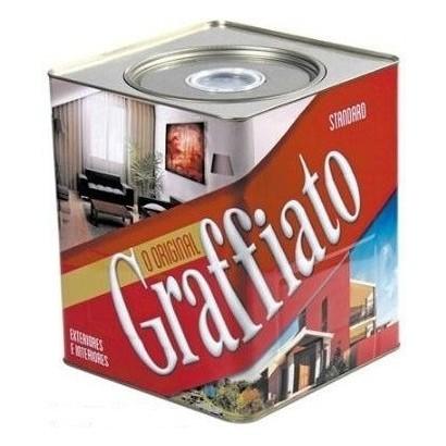 Graffiato Standard Riscado 25kg Nn Branco Natural