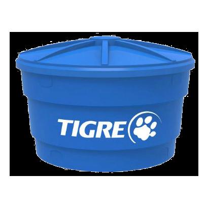 Caixa D´água de Polietileno Tigre C/ Tampa