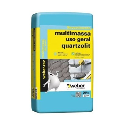Multimassa Quartzolit 20kg (Revestimento)