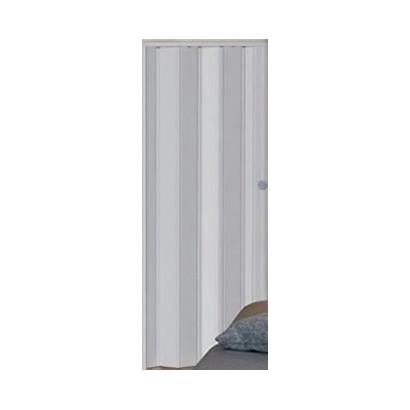 Porta Sanfonada PVC Cinza Araforros