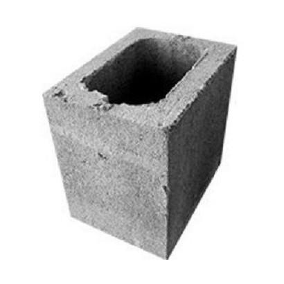 Bloco de Concreto Vedação 14x19x19 (Meio Bloco)