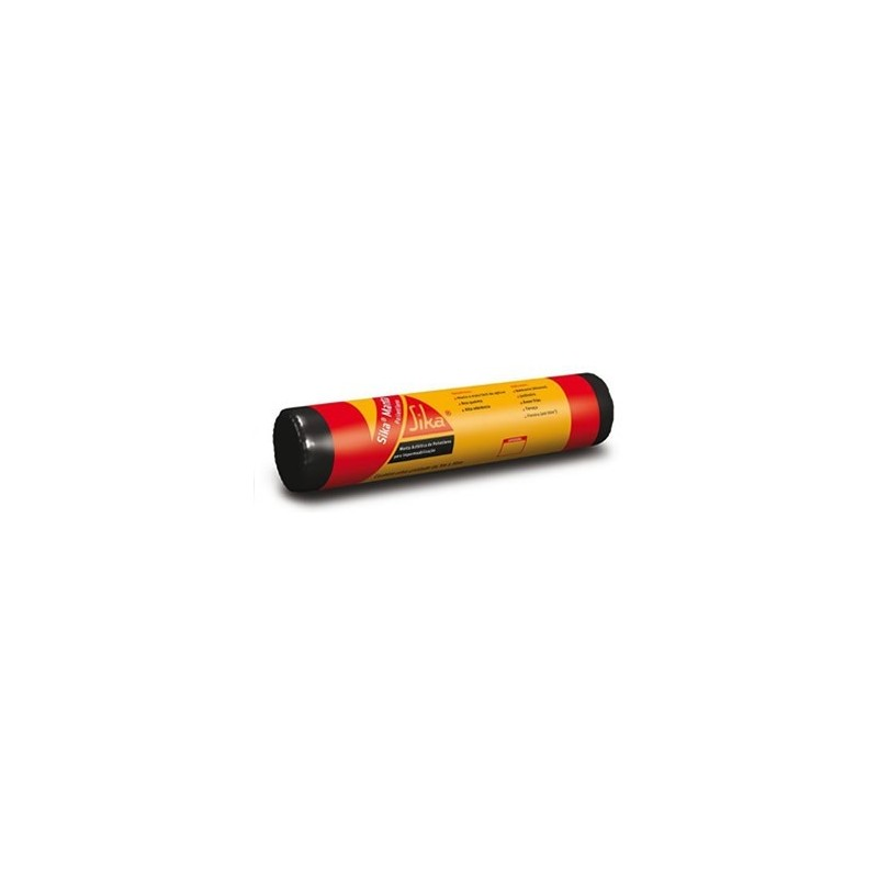 Manta impermeabilizante asfáltica Polietileno 10mtx3mm Sika