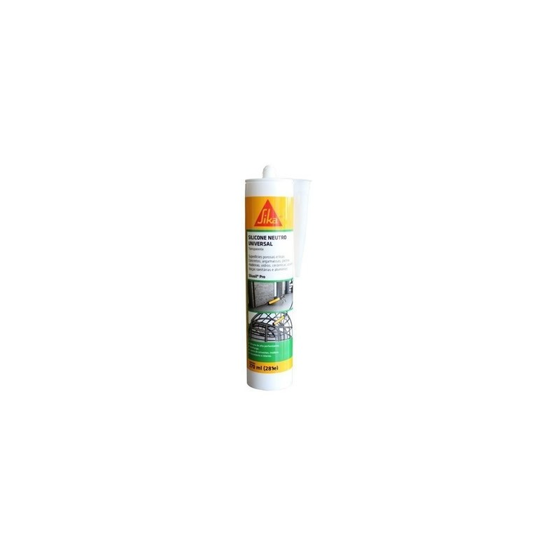 Silicone Sikasil Incolor 270 ml Sika