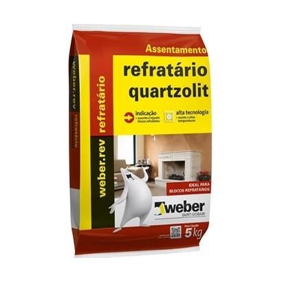 Argamassa Refratária 5Kg Quartzolit