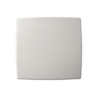 Placa Cega 4x4 Branca Zeffia