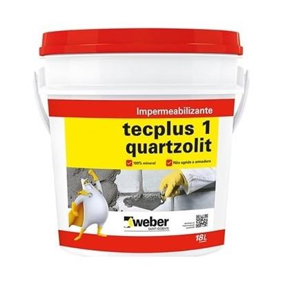Impermeabilizante Tecplus 1 18L Quartzolit