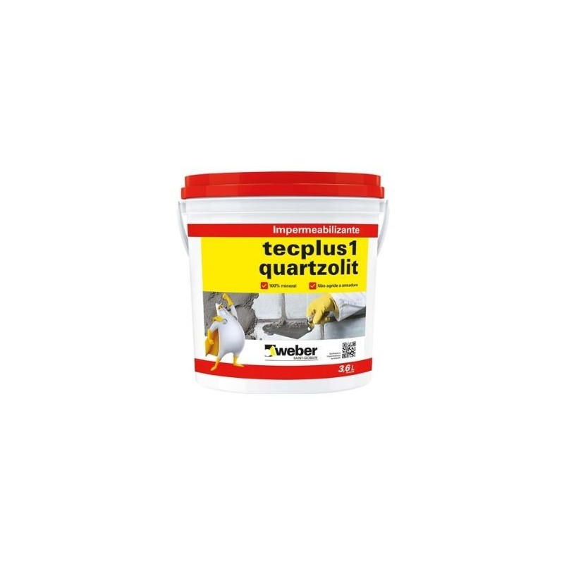 Impermeabilizante Tecplus 1 3,6L Quartzolit