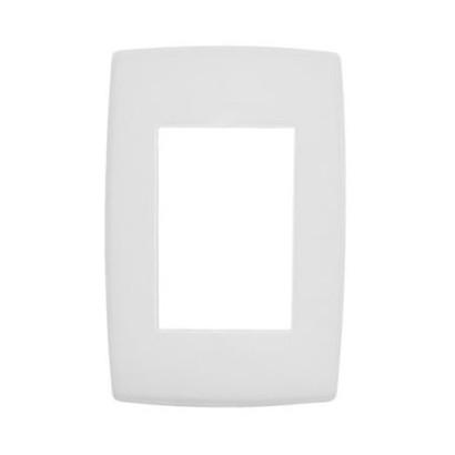 Placa 4x2 3 Postos Branca Ref. 618503 PialPlus