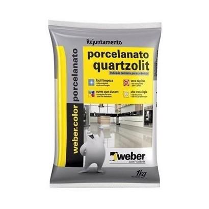 Rejunte 1Kg Quartzolit Porcelanato