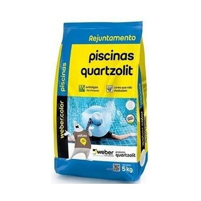 Rejunte 5Kg Quartzolit Piscina Branco