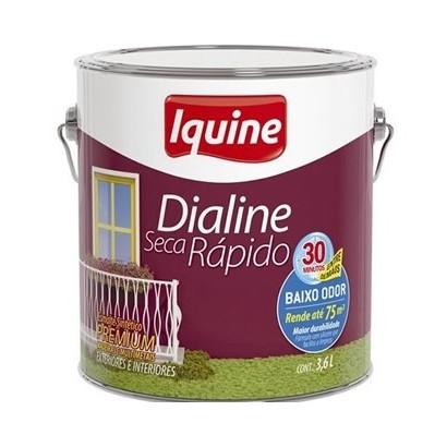 Tinta Esmalte Sintetico Premium Dialine 3,6 lt Iquine (ESP)