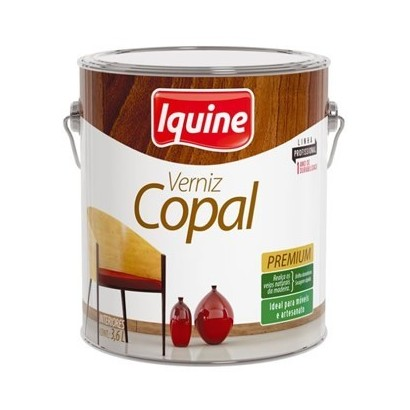 Verniz Copal Brilhante 3,6 Litros Iquine