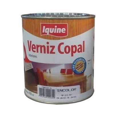 Verniz Copal Brilhante 900ml Iquine