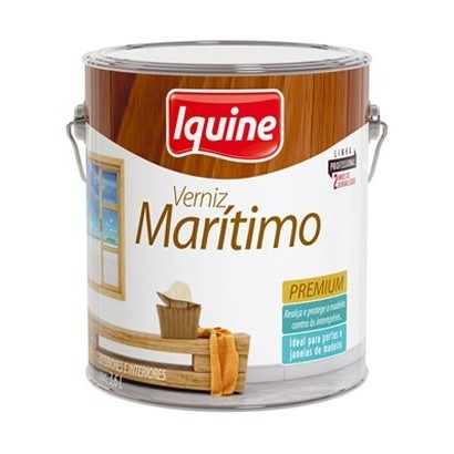 Verniz Maritimo Brilhante 3,6 lts Iquine