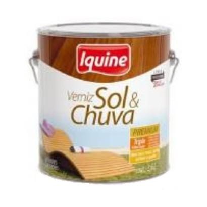 Verniz Sol & Chuva 900ml  Incolor Acetinado Iquine