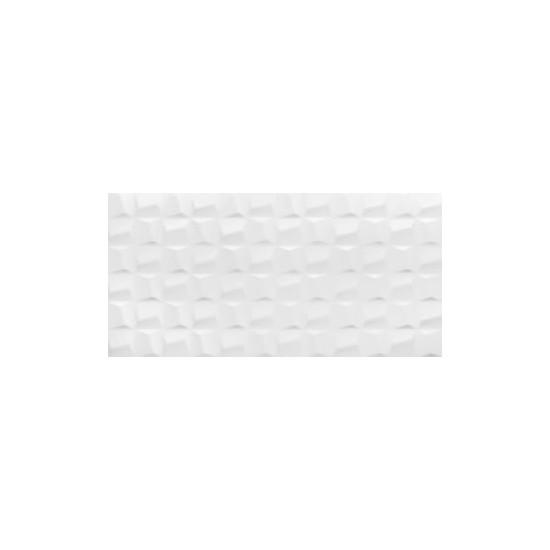 Revestimento 45x90 Eliane Cubic White Cx 1,62mt²