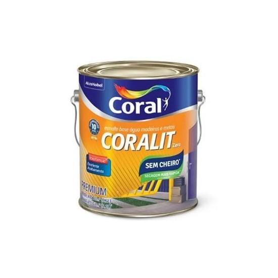 Tinta Esmalte Zero Br 3,6lts Coralit Coral