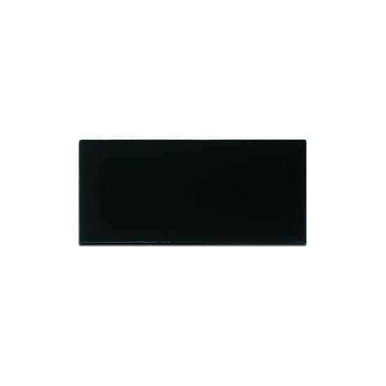 Azulejo Strufaldi 10x20 Black Standard Plus Cx 1,38
