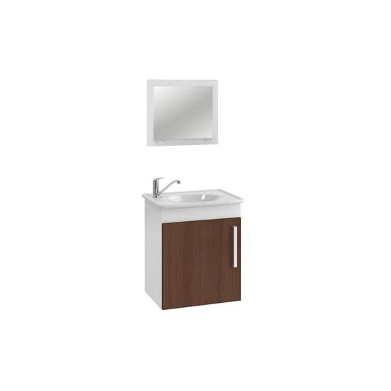 Kit Viena para Banheiro 42x50 (Gab + Espelheira) MGM