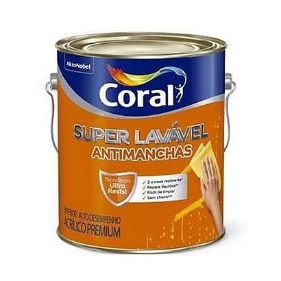 Tinta Super Lavavel 18lts Coral