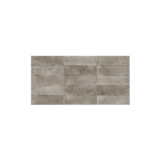 Revestimento 35x70cm Brick Gray-35 A cx 1,96m² Delta