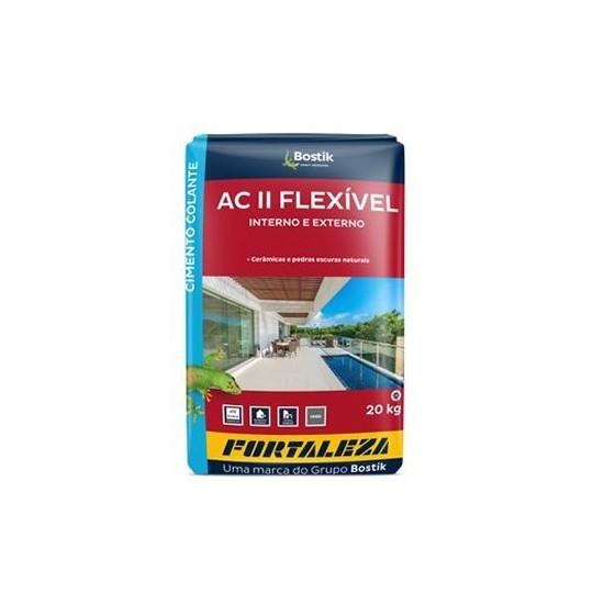 Argamassa Flexível ACII Interno/Externo 20kg Fortaleza
