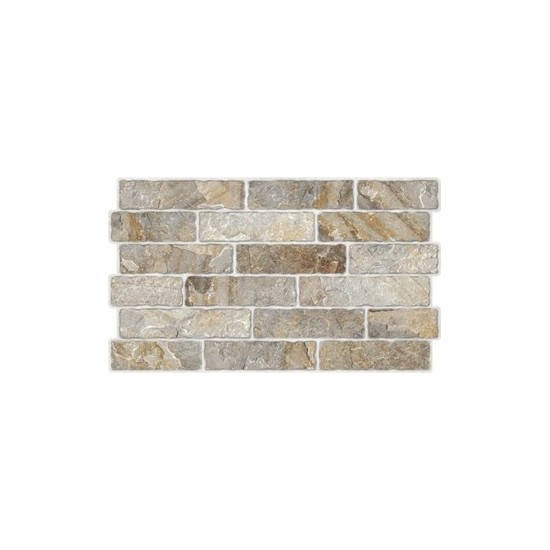 Revestimento Embramaco 34x58cm C54008 Brick Stone A Cx 1,52m²