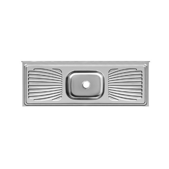 Pia Aço Inox Frisada Standard Forminox