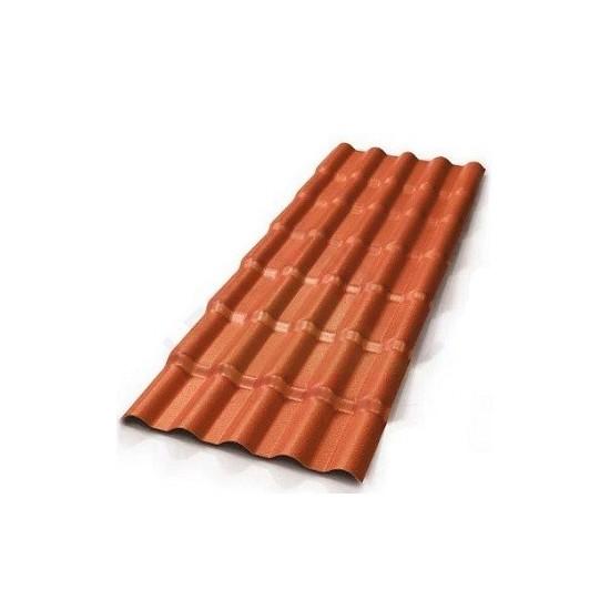 Telha Plan PVC cor Cerâmica 2,42x 0,88