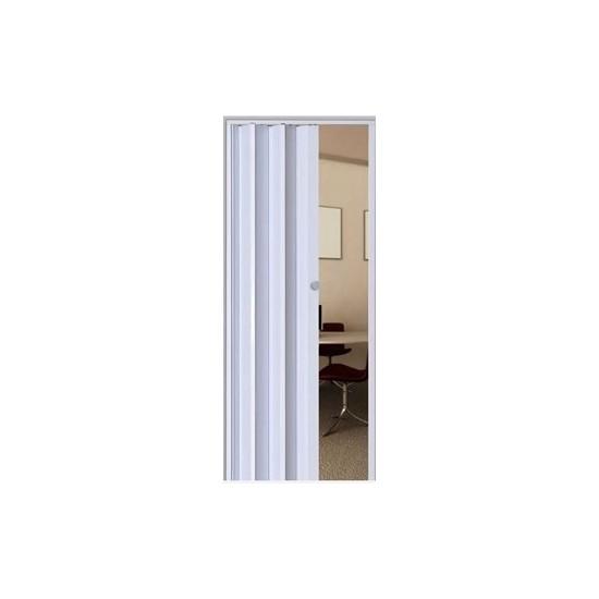 Porta Sanfonada PVC Branca Araforros