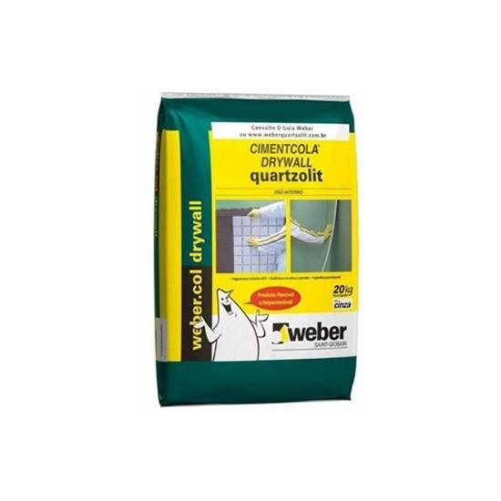 Argamassa Interna Drywall 20Kg Quartzolit