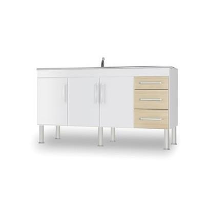 Balcão Cozinha Roma 1,50 cm MGM